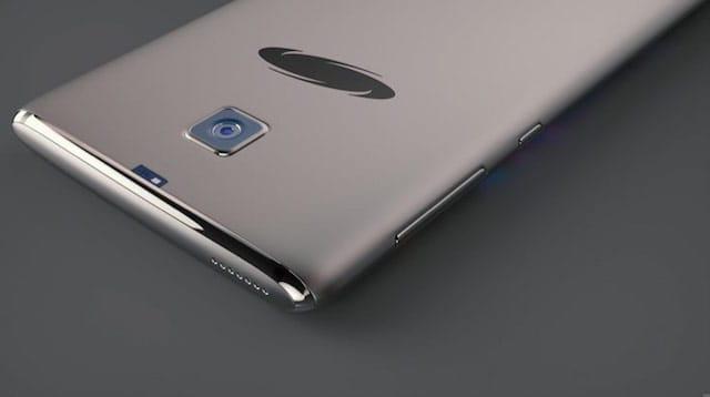 Samsung Galaxy S8 concept design back
