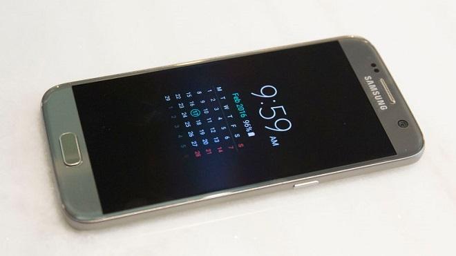 Galaxy S7 Always On display