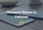 Slimmest phones in Pakistan