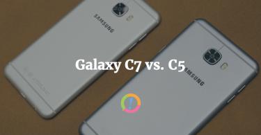 Galaxy c7 vs c5 pakistan rear design back