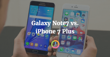 iPhone 7 Plus and Galaxy Note 7