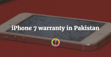 iphone 7 warranty pakistan