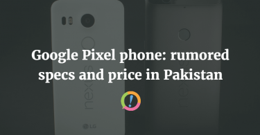Google Pixel phones in Pakistan