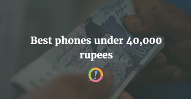 Best phones under Rs. 40,000