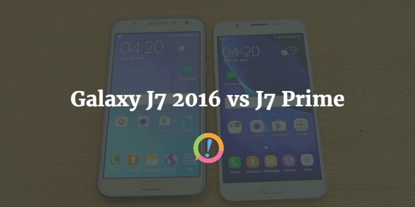 Galaxy J7 2016 Vs Prime Whats The Difference