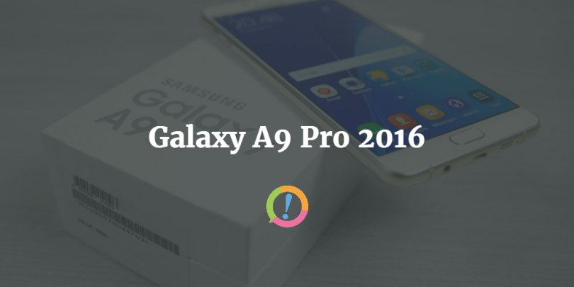 Galaxy A9 Pro: expected price and launch date in Pakistan