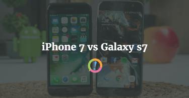 iPhone 7 vs Samsung Galaxy 7