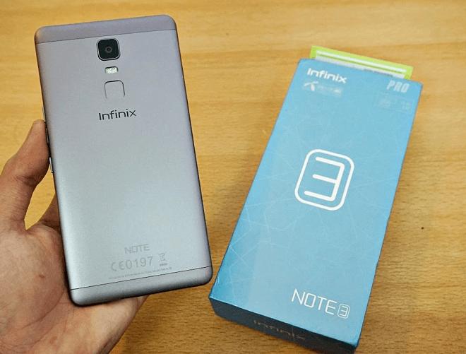 Infinix Note 3 Pro